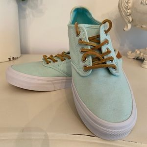 Women's Mint Vans sneakers size 7